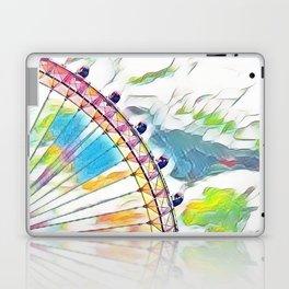 I Dream of Ferris Wheel Laptop & iPad Skin