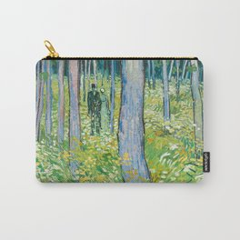 Undergrowth with Two Figures by Vincent van Gogh Carry-All Pouch