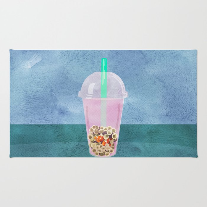 Clownfish Tea by Kenzie McFeely Rug