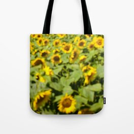 Summer Sunflower Love II Tote Bag