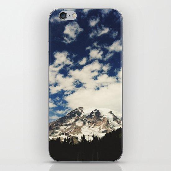 Mount Rainier: Captured on an iPhone iPhone & iPod Skin