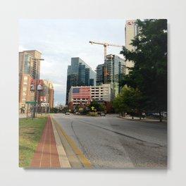 A Walk To Baltimore's Fleet Street Metal Print