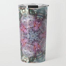 mandala texture for decoration Travel Mug