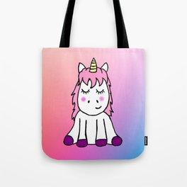 Happy Unicorn Tote Bag