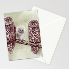 The Endangered Spotted Owl Stationery Cards