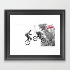 Offline III Framed Art Print