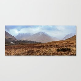 Glen Coe Scotland Canvas Print