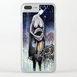 Haligarth - A Sacred Place Clear iPhone Case