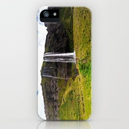 Seljalandsfoss Waterfall in Southern Iceland (2) iPhone Case