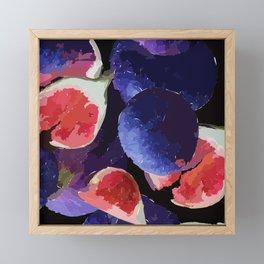 Figment of Your Imagination | Fig Print  Framed Mini Art Print