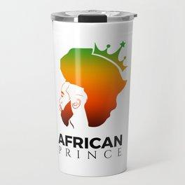 African Prince Travel Mug