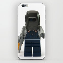 Welder welding Minifig iPhone Skin