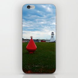 Marker Buoy and Lighthouse iPhone Skin
