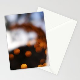 Bokeh Trail Stationery Cards