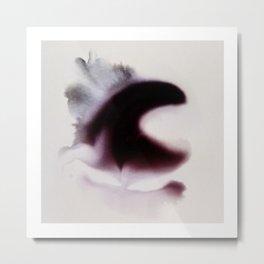 Emergent delicate new moons Metal Print