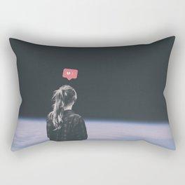 Dead in your head Rectangular Pillow