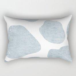 Large Giraffe chambray texture Rectangular Pillow