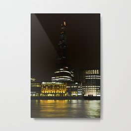 The Shard and Southbank Metal Print