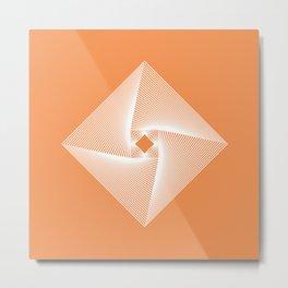 Square Pyramid Metal Print