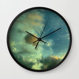 This is not a watercolor Wall Clock