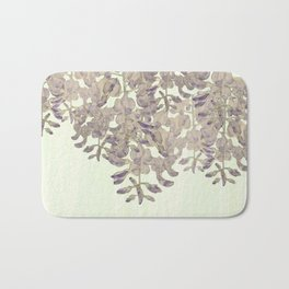 Wisteria - a thing of beauty is a joy forever Bath Mat