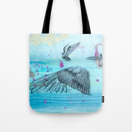 Flight Detail Tote Bag