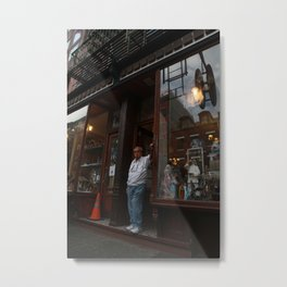 Shopkeeper Metal Print