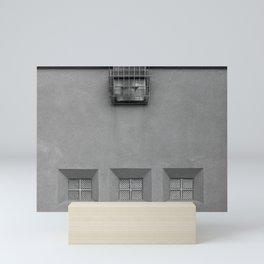 Three Little Windows Mini Art Print
