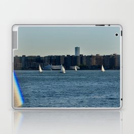 Sailing on the Hudson River Laptop & iPad Skin