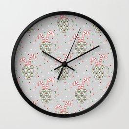 Festive Flavors Wall Clock