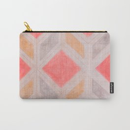 Boho Harlequin Pattern Carry-All Pouch