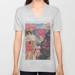 Desert Blooms Unisex V-Neck