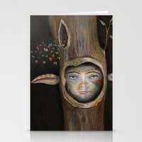 tree of life Stationery Cards featuring Tree Life by Fizzyjinks