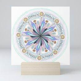 Throwback Mandala Mini Art Print