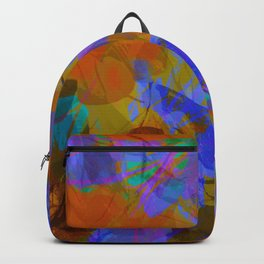 Yellow Water Blossoms Backpack