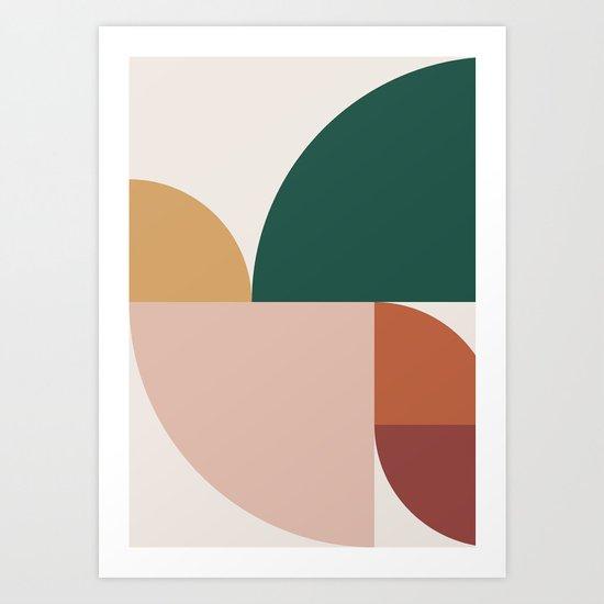 Abstract Geometric 11 by theoldartstudio