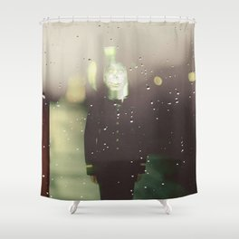 Random man Shower Curtain