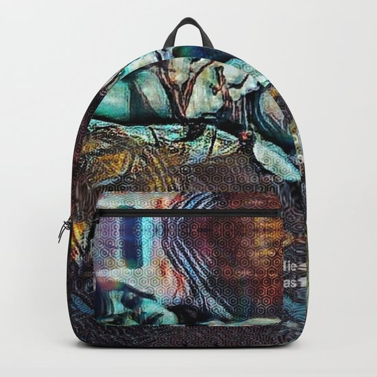 Lies From The Past Backpack