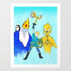 The Legend of Bubblegum: Skyward Jake Art Print