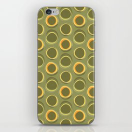 Solar Eclipse MCM Green iPhone Skin