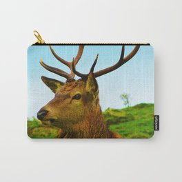 The Stag on the hill Carry-All Pouch