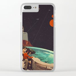 Hopes And Dreams Clear iPhone Case