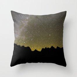 Snowmass Wilderness Mily Way Throw Pillow