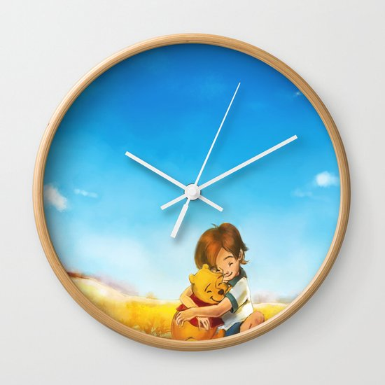 Everything is Right Wall Clock