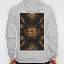 Urban Tribal Pattern No.7 - Aztec - Wood Hoody