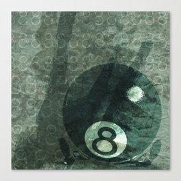 Behind the Eight Ball Canvas Print