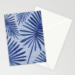 Mid Century Meets Mediterranean - Tropical Print Stationery Cards