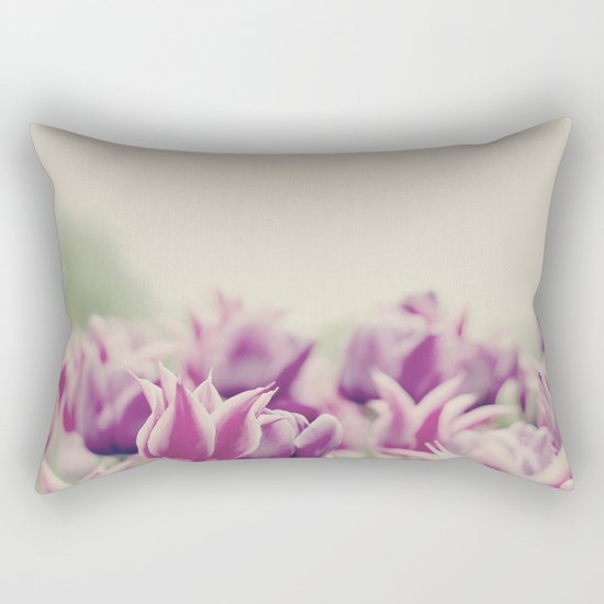 Tulips II Rectangular Pillow