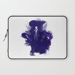 Watercolor Eleventh Doctor Laptop Sleeve
