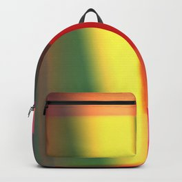 Colored blured pattern Backpack